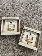 Lot Of 2 French France Countryside Champagne Chateau Gaston Dbl Switch Plate