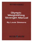 Wsbb Books - Olympic Weightlifting Strength Manual Westside Barbell