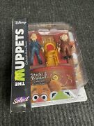 Statler And Waldorf W/ Balcony - The Muppets Collectable Action Figures