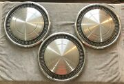Three 1972-90 Chevrolet Pickup Truck 72 Chevelle 70 And 72 Monte Carlo 15 Hubcaps