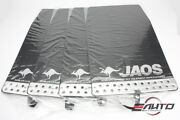 Jaos Front + Rear Mud Guard Flap For Toyota 4runner 03-09 Surf 215 02-09 - Black
