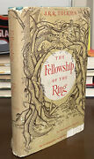 1954 J.r.r. Tolkien Lord Of The Rings Fellowship Of Ring Us First Printing Wow