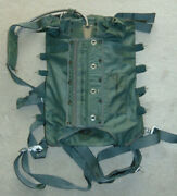 Military Parachute Harness And Container Vietnam Era 1969