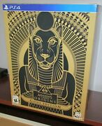 Assassins Creed Origins Gold Edition Box And Extras No Game Or Statue Ps4