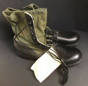 Unissued Vietnam War 1966 Us Gi Jungle Combat Boots 12n Waffle Sole Rosearch