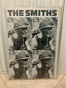 Very Rare The Smiths Meat Is Murder Swedish Import Poster