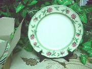 Wedgwood English Cottage Four 4 Dinner Plates Mint Condition In Box