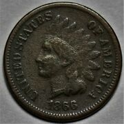 1866 Indian Head Cent Us 1c Penny Coin Flat Rate Shipping Lot 213
