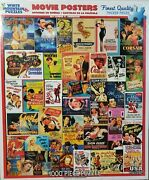 Television History And Movie Poster 1000 Piece Jigsaw Puzzles White Mountain