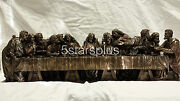 Large The Last Supper 29 Long Statue Figures Sculpture Ship Immediately