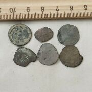 1500s French Medieval Silver Coins Dug France Old Buried Treasure