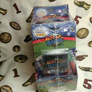 2005 Topps Hot Button Baseball Collectible Card Game Box 18 Packs Factory Sealed