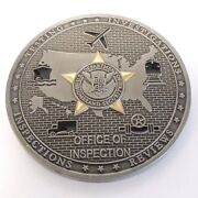 Tsa Challenge Coin Office Of Inspection Transportation Security Administration