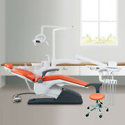 Dental Unit Chair Computer Controlled Hard Leather Tj2688-b2 With Doctor Stool