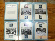 Pcs Standing Liberty Quarters Panels 14 Coins And Stamps In Binder 1926-1930 P D S