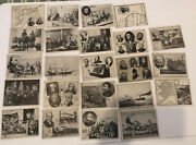 Antique 1926 Lot 23 Ins Interstate News Service History Trading Cards