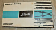Vintage Precision Drafting Tool Compass Set Germany Lafayette 99-7003