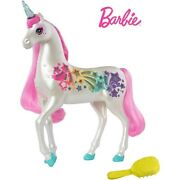 Barbie Dreamtopia Brush And039n Sparkle Unicorn With Lights And Sounds