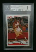 2006 Topps Mcdonaldand039s All American B19 Kevin Durant Bgs 9 Mint Sp Rare