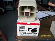 Indoor Outdoor Potter Ssx-52 Durable Self-contained Siren
