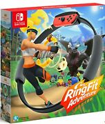 Ring Fit Adventure Game+ Ring-con Leg + Strap Whole Set For Nintendo Switch