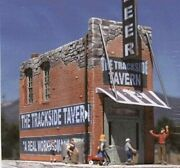 Downtown-deco The Trackside Tavern Kit - O Scale Model Railroad Building - 46