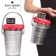 Nwt Kate Spade Paint The Town Roses Bucket Bag Rose-colored Glasses - Rose Pail