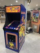 New Ms. Pacman Arcade Machine With Trackball Upgraded To Play 412 Games
