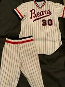 Denver Bears Milb Game Used Uniform Worn Baseball Jersey And Pants Late 1970and039s