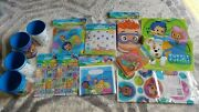 Bubble Guppies Birthday Party Decorations / Supplies - Table Cover, Cups, Decor