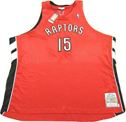 Mitchell And Ness Nba Toronto Raptors Vince Carter 2003-04 Authentic Jersey 64 5xl