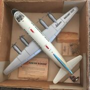Schuco Vintage 5600 Radiant Pan American Plane. Fully Operational Boxed. Video