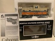 🚂mth 20-91413 Interstate 555005 Ns Heritage Series Extended Vision Caboose Nib