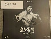 Hot Toys Dx04 Enter The Dragon Bruce Lee 1/6 Figure Used Mint Condition