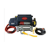 Sto Universal Kds-10.0i 10000lb Pound Electric Recovery Winch Steel Cable Rope