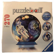 Ravensburger Outer Space 3d 16cm 270 Puzzleball W Stand Howard Robinson 123896