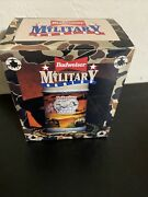 Budweiser Salutes Army Beer Stein 1993 Military Series New In Opened Box W/ Coa