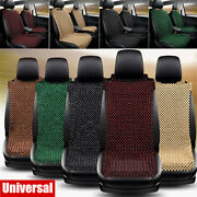 Universal Car Seat Cover Car Driver Seat Cushion Natural Massage Wooden Beaded