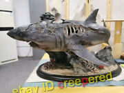 Queen Studios Zombie Shark Life Size 1/10 Bust Resin Statue Limited 99