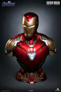 Queen Studios Iron Man Mk85 Life Size 1/1 Statue Led Resin Collectible Figures