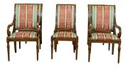L32733ec Set Of 6 Karges French Louis Xvi Style Dining Room Chairs