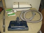 Kenmore 5.0 Canister Vacuum Cleaner Power Electric Hose Head Wand Bags Tools ++