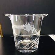 Waterford Crystal Marquis 2000 Champagne Ice Bucket Collectors Crystal Bowl