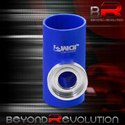 For Ford Mustang Focus 2.5 Turbo Ssqv/sqv Bov Flange Blue Silicone Adapter Pipe
