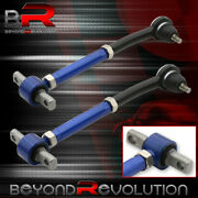 For 90-97 Accord Rear Camber Kit Adjustable Black Blue Suspension Arm Links Race