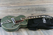 Dandrsquoangelico Premier Series Exl-1 Limited Edition Archtop Guitar Army Green + Ogb