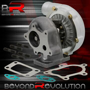 T3/t4 T04e Turbo Charger .57 A/r Air Ratio 57 Trim Stage Iii 400+ Boost Upgrade
