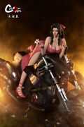Creation Studio Ff7 Alice Motorcycle Girl Sexy1/4 Statue Painted Model Cast Off