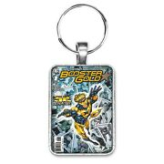 Booster Gold 1 New 52 Cover Key Ring Or Necklace Classic Comic Book Jewelry