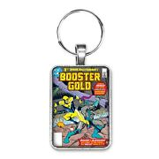 Booster Gold 1 Cover Key Ring Or Necklace First Appearance Booster Gold Comic
